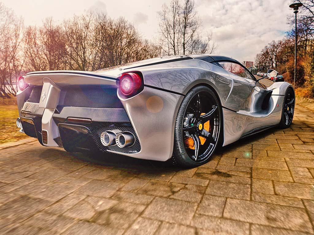 Autoankauf Schweiz Online Ferrari backside