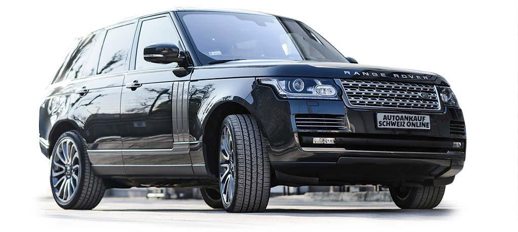 Range Rover Autoankauf Schweiz Online