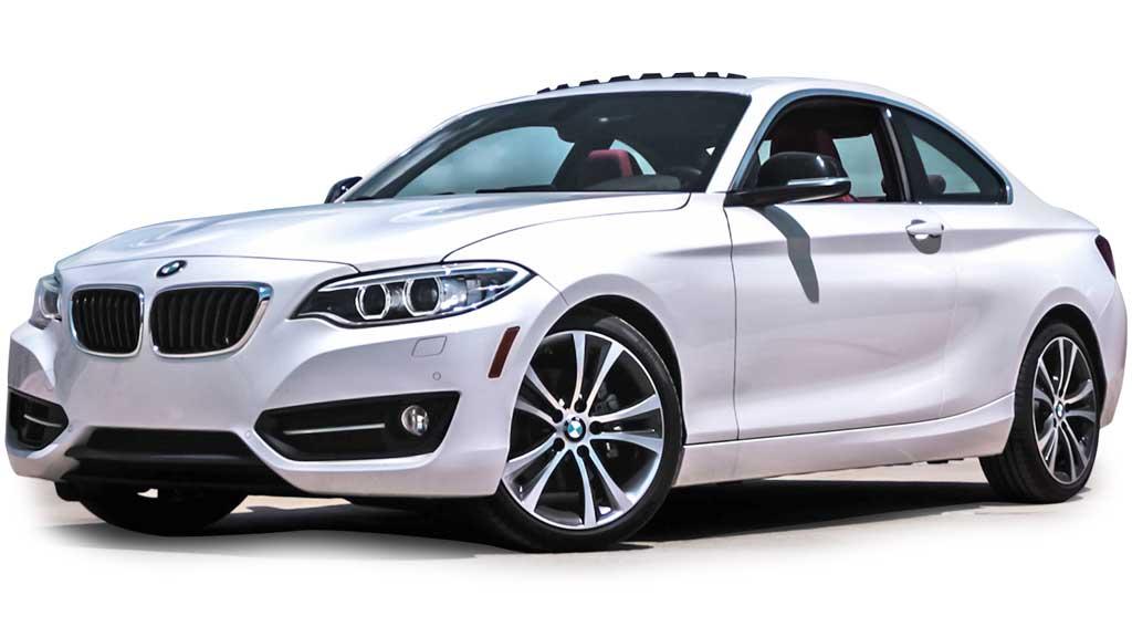 BMW Coupe weiss Autoankauf Schweiz Online